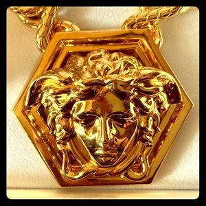 Versace Accessories - VERSACE x Haas Brothers Gold Medusa Chain 🐍